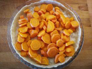 Quiche mit Karotten